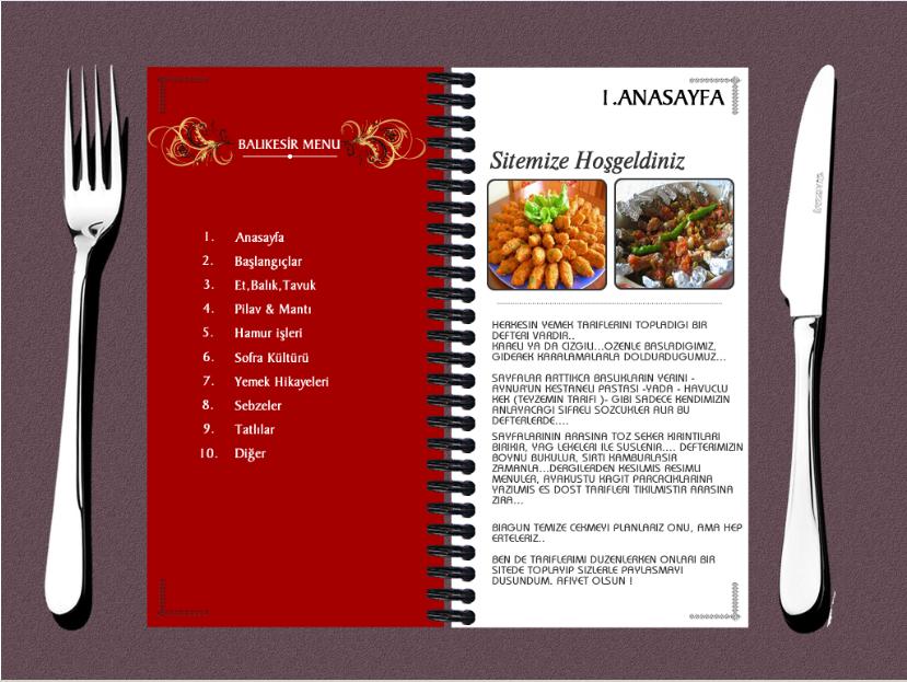 Balıkesir Restaurant Web Site Tasarım