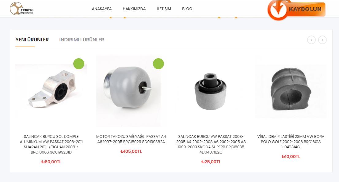 Yedeto Web Site Tasarım